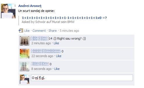 Prima zi de şcoală pe Facebook