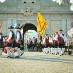 Schimbare de gardă la Cetatea Carolina