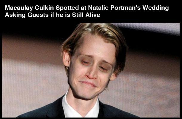 Cum a murit Macaulay Culkin pe Internet