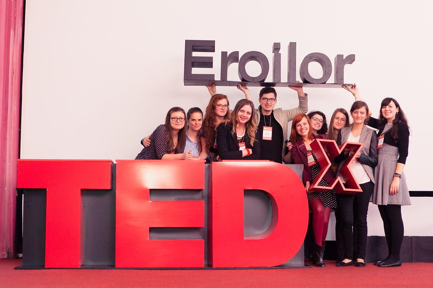 Inspiraţie. Marca TEDxEroilor