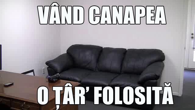 ANUNT-VAND-CANAPEA