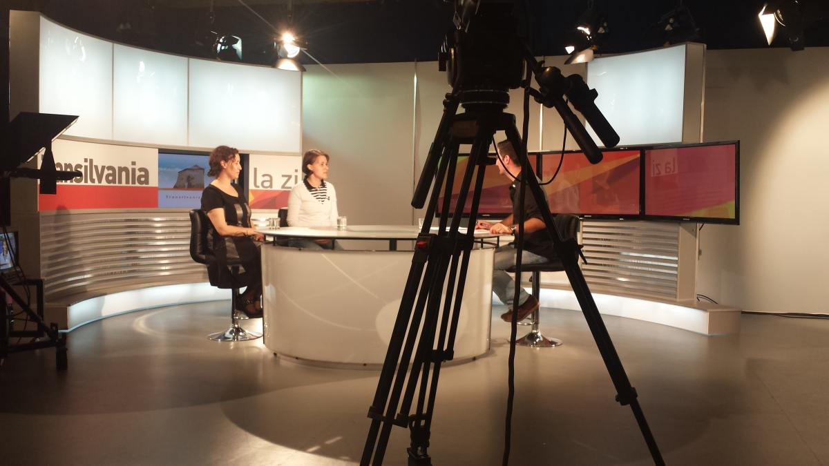 Live #faraprejudecati din studioul TVR Cluj