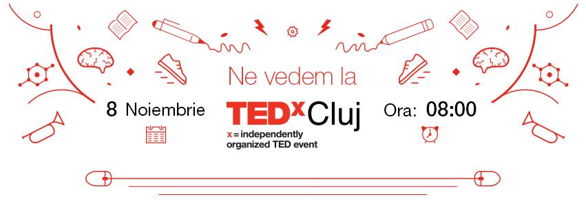 Ne vedem la TEDxCluj
