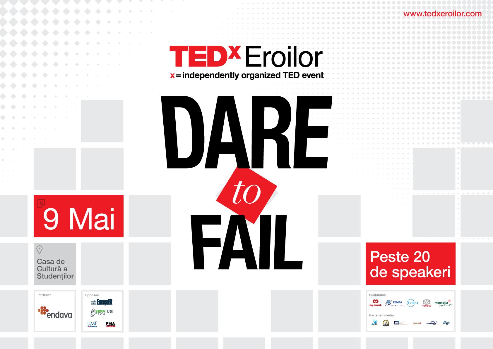 Fraților, am înfrânt! Despre puterea eșecului la TEDxEroilor!