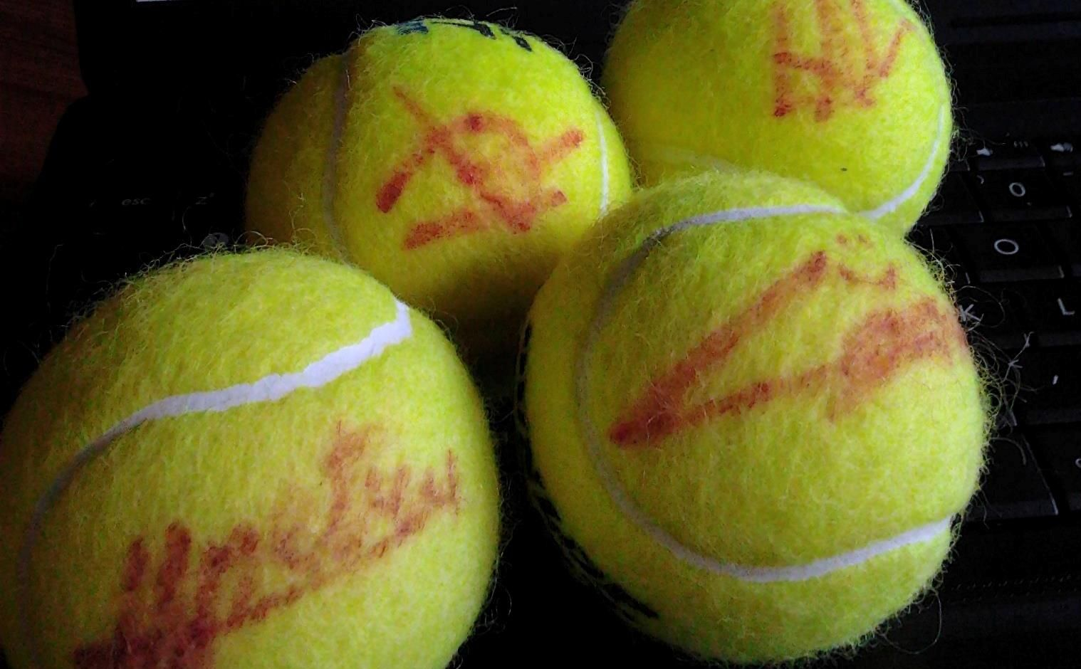 Câștigă mingi semnate de tenismenii români și hai la Cupa Davis!