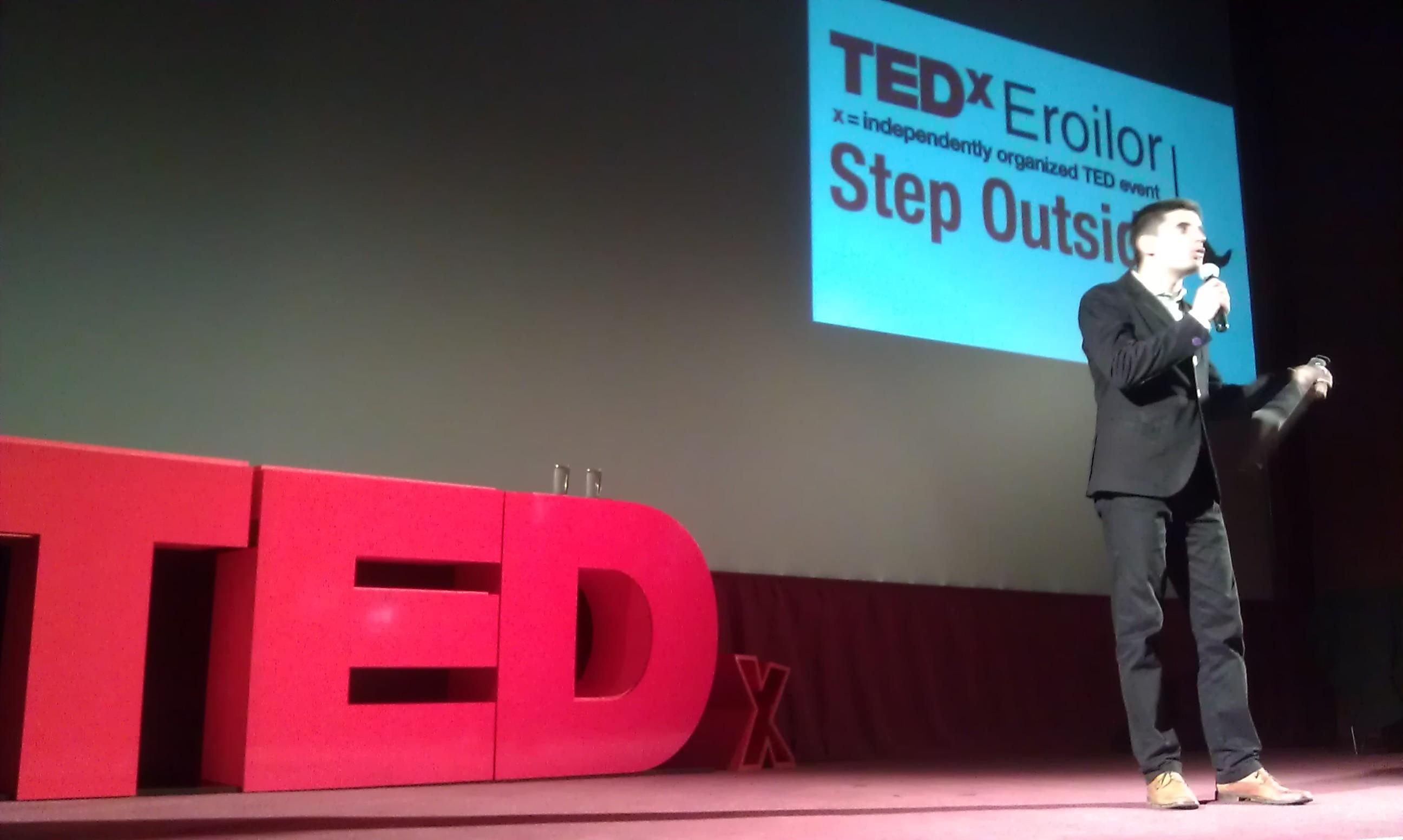 TEDx Eroilor, aproape live (din Mărăști)