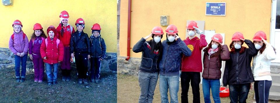 Pentru șapte copii: povestea școlii din Tranișu