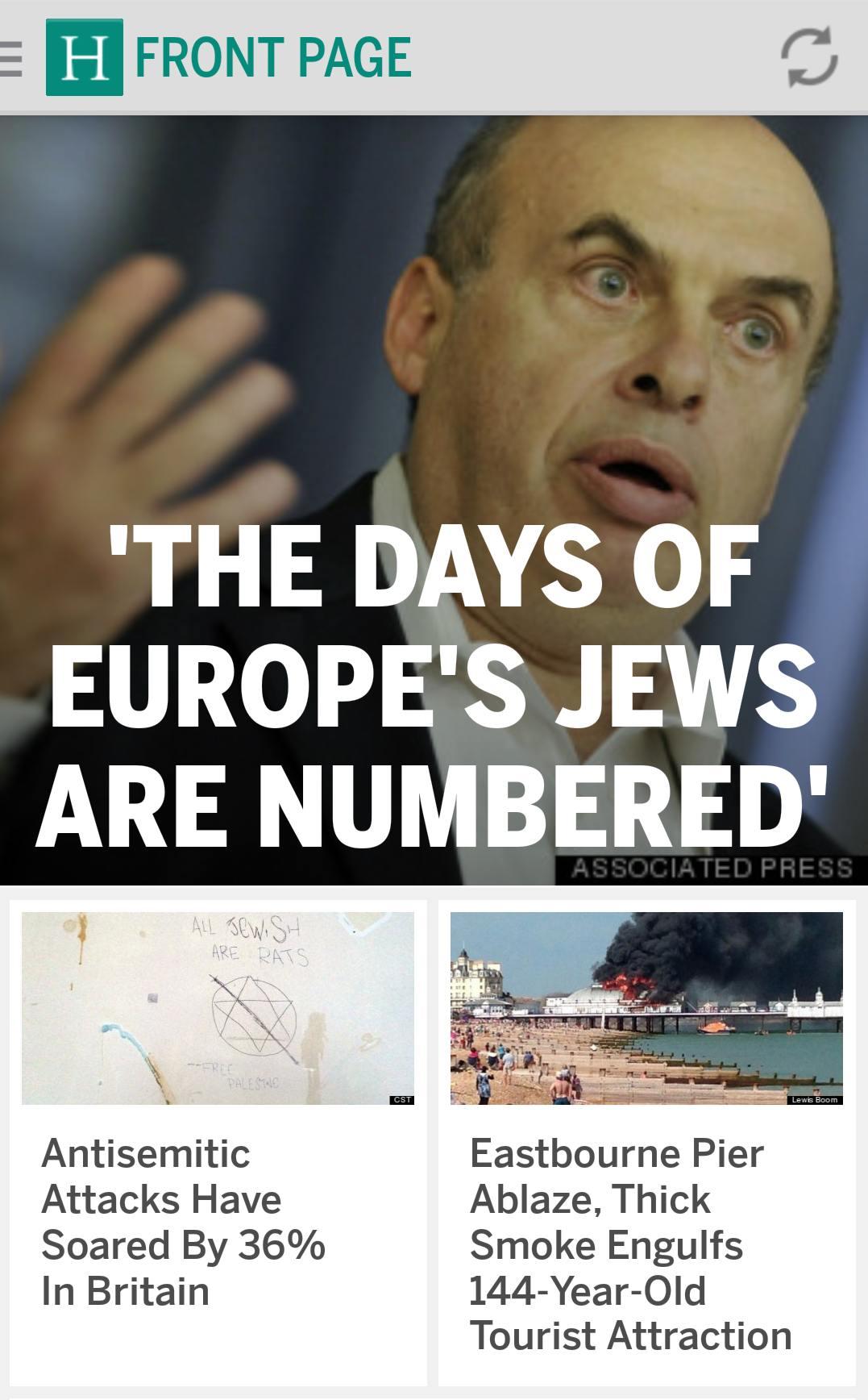Acasă la Hitler, despre Israel și Fâșia Gaza