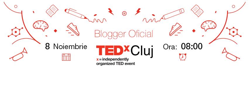 Ne vedem mâine la TEDx Cluj